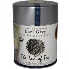 Certified Organic Black Tea and Bergamot