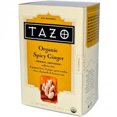 Organic Spicy Ginger Teas
