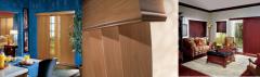 Crosswinds® Wood Vertical Blinds