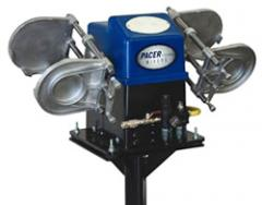 Pacer Dual Air Double Shaker with Air Motor