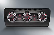 Climate control system for Audi A1
