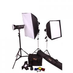 200W Studio Kit With Softboxes