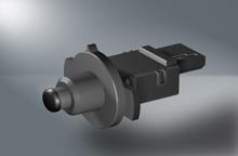 Sensor for throttle flap position