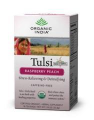 Tulsi Raspberry Peach Tea