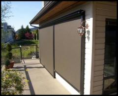 Exterior Roller Screens & Shades