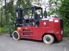 Taylor TC520 Cushion Lift Truck 52,000lbs @ 36in