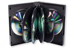 Standard 10-Disc DVD Case