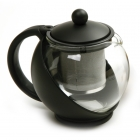 Eclipse Glass Teapot with Mesh Filter