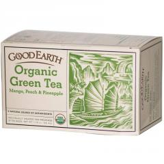 Mango, Peach & Pineapple Organic Green Tea