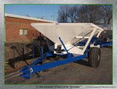 Doyle 2 Ton Ground Wheel Drive Spreader