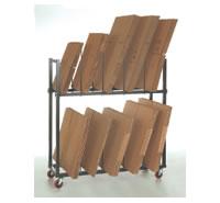 CS-1101 Carton Storage Cart