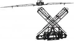 45' & 60' Hydraulic X-Fold Booms