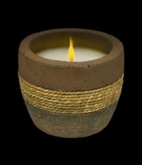 Terra Cotta Earth Tone Candle
