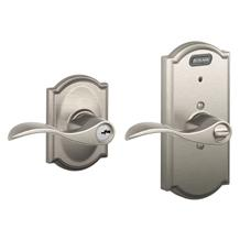 Satin Nickel -Camelot Collection with Accent Lever