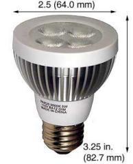 Incandescent (LED) Replacements Lamp PAR20