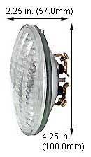 Tungsten Halogen Sealed Beam Par36 01730C