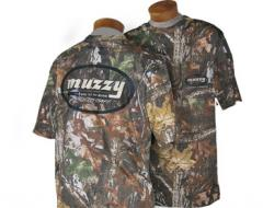 Muzzy Field Staff-Realtree APG Short Sleeve Camo