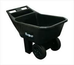 Easy Roller Jr. 3 Cubic Foot Poly Yard Cart