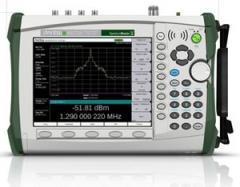 First Handheld Spectrum Analyzers up to 43 GHz