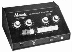 Monode 400 CC-B Solid State Power Unit