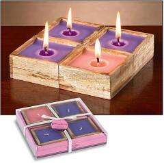 Advent Candle Set with Holder