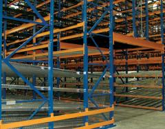 Structural Pallet Rack Pick Modules