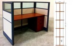 Skutchi l EMERALD Call Center Cubicle Toffee
