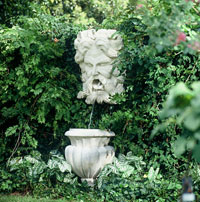 Garden fountains Poseidon Fountainhead