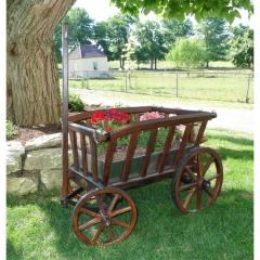 Old Fashioned Goat Wagon - Small Rustic