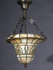 Arts & Crafts Leaded Glass Dome