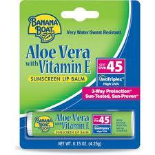 Aloe Vera with Vitamin E SPF 45 Lip Balm