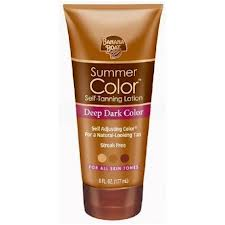 Summer Color® Self-Tanning Lotion Deep Dark Color