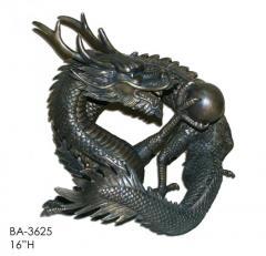 Bronze сultural dragon