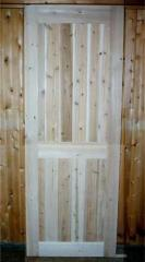 Northern White Cedar Doors