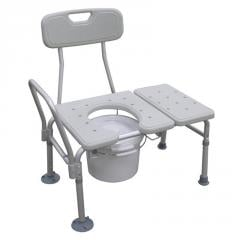 Combination Transfer Bench/Commode