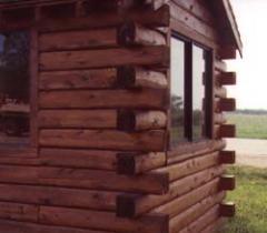 Log Home Corners