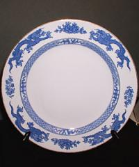 Chinese Blue Dragon Plate