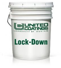 LOCK-DOWN is a single component, moisture cured,