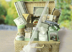 Green Tea Spa Haven Gift Basket