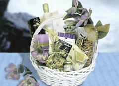 Lovely in Lavender Wedding Basket (Large)