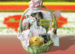 Deluxe Baby Girl Basket