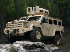 BearCat Lenco armored vehicle