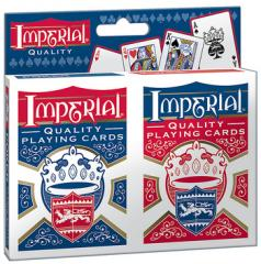 Imperial® Twin Pack Poker Playing Cards