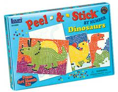 Dinosaurs Peel & Stick™ by Number
