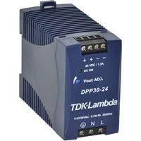 TDK–Lambda DPP Series DIN Rail Mount Power Supply