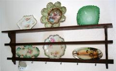 Arts & Crafts Mission Oak Wall Shelf