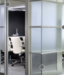 DIRTT glass walls