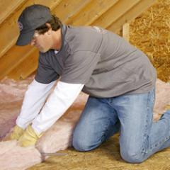 Insulating with PINK FIBERGLAS™ Batts &