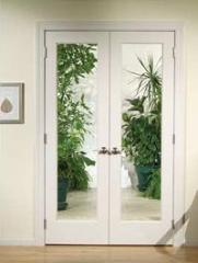 Primed Pine French Doors