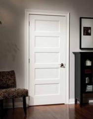 Flat 5-panel door